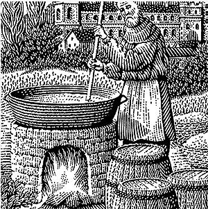 monk brewer пивоварение в средние века