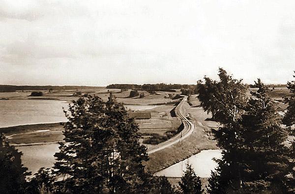 railroad near Kummetschen