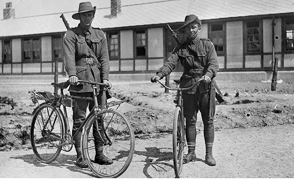 1st Anzac Cyclists Battalion 1917