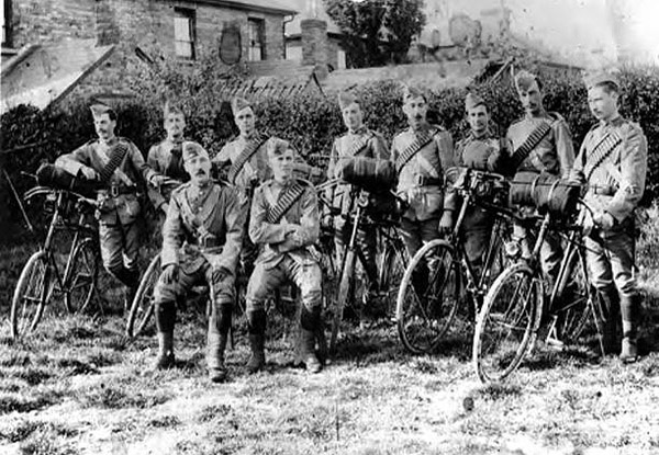4th Hampshire regt Cyclists