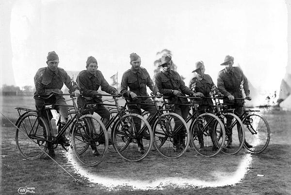 Australian Cycling Corps c 1915