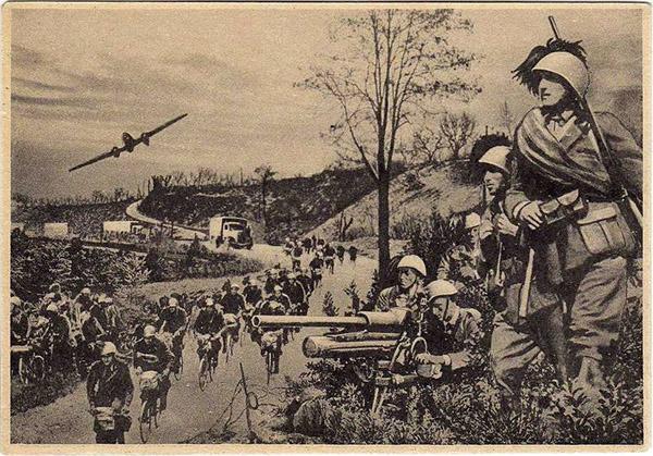 BERSAGLIERI CICLISTI WWII