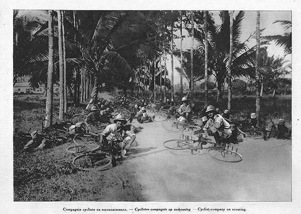 Belgian army bicycle unit in Tanzania_1917