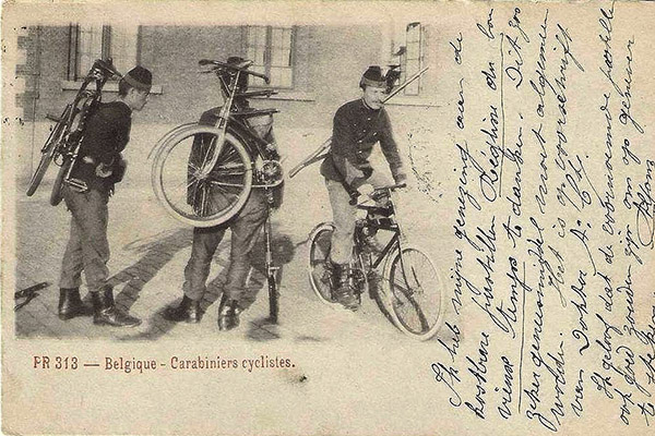 Carabiniers cyclistes