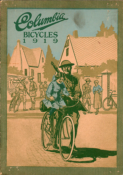 Columbia bicycles 1919