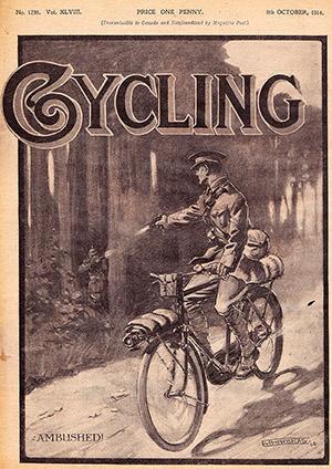 Cycling Oct 1914 самокатные подразделения