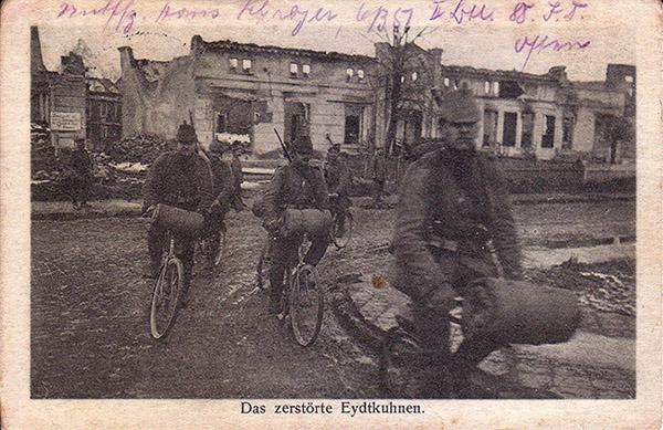 Eydkuhnen_1916 самокатные подразделения