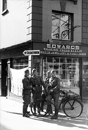 Guernsey / Jersey, Deutsche Soldaten