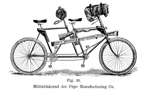 Pope military tandem