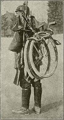 Reichswehr cyclist