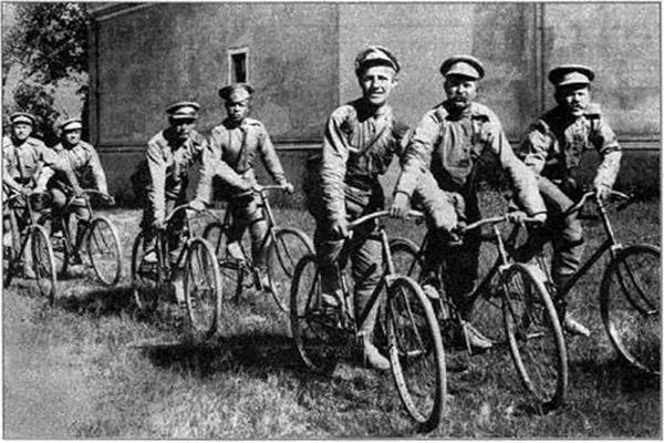 Russian Army военные велосипедисты