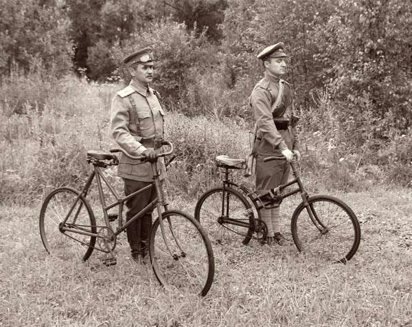 Russian Cyclists военные велосипедисты