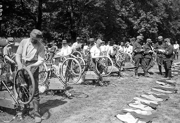 Swiss Radfahrer Kompanie 1 - 1914-1918