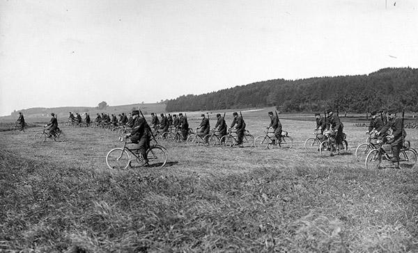 Swiss Radfahrer Kompanie II-4