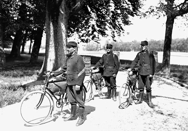 Swiss Radfahrerpatrouille 1914-1918
