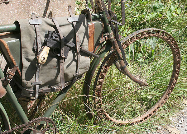 WWI Germas Bicycle Victoria with Springwheel