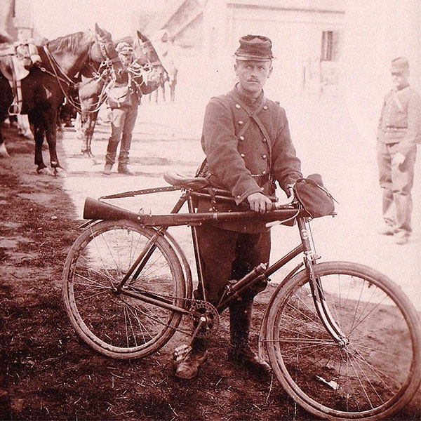 WWI Gladiator Bicycle French Soldat 1917