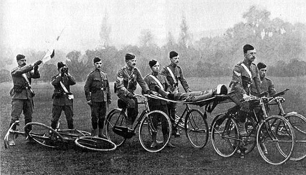 WWI bicycle_ambulance