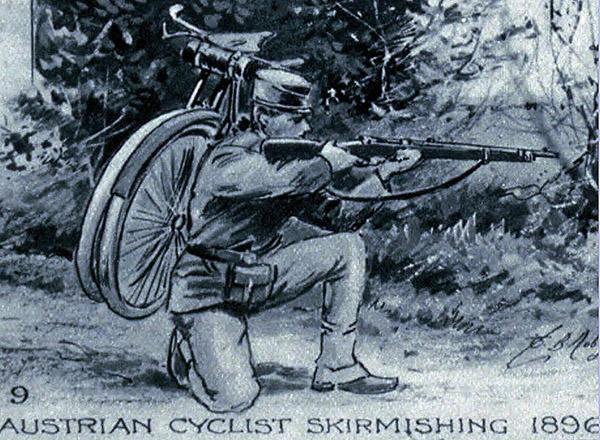austrian cyclist самокатные подразделения