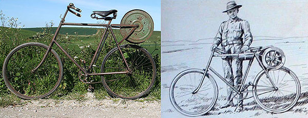boer war bicycle
