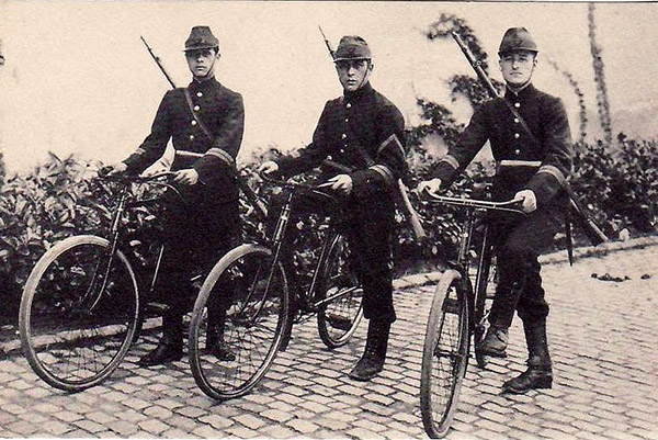carabiniers cyclistes WWI