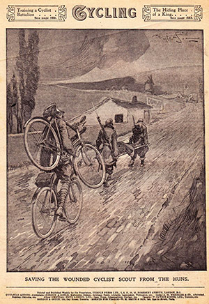 cycling 1915 самокатные подразделения