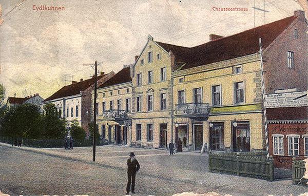 Eydtkuhnen 1908 Эйдткунен