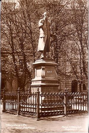 Kant Denkmal Koenigsberg