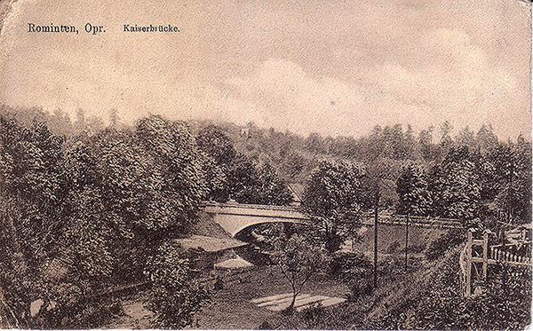 Rominten Kaiserbruecke 1915 мосты роминтской пущи