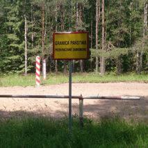 Польско-советская граница в Восточной Пруссии
