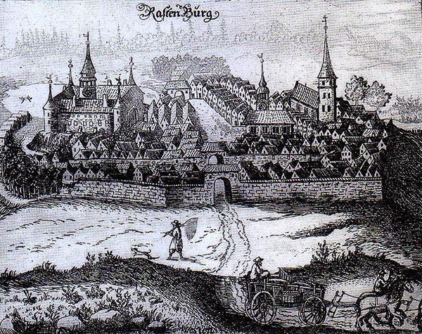 Rastenburg 1684 Растенбург
