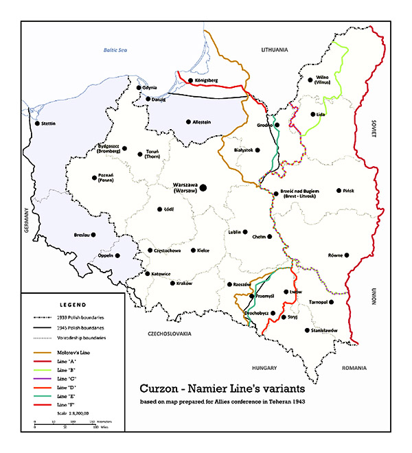 linie_a-f_ang линия керзона польско-советская граница и линия Керзона