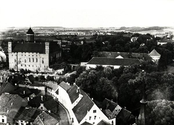 Heilsberg 1938 blick vom kirchen turm