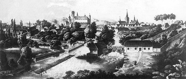 Heilsberg ca 1830