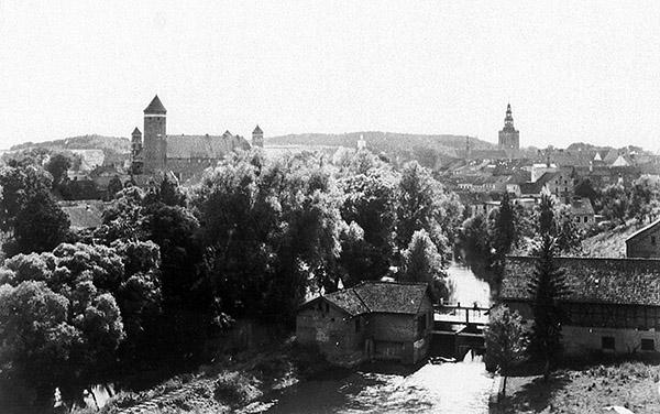 Heilsberg ca. 1930 Хайльсберг Лидзбарк Варминьски