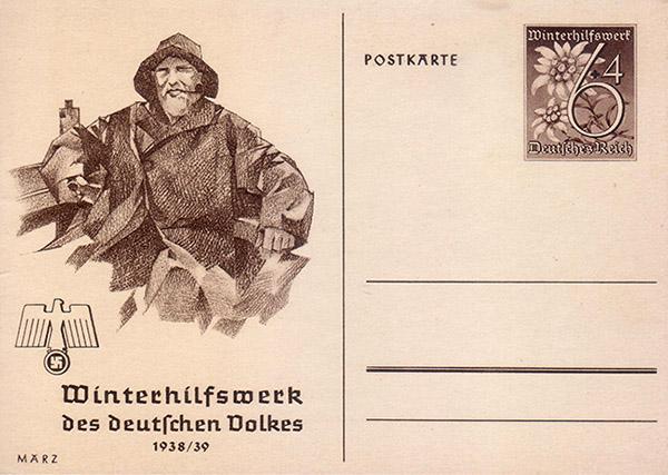 Axster-Heudtlass Winterhilfswerk Marz 1938-39