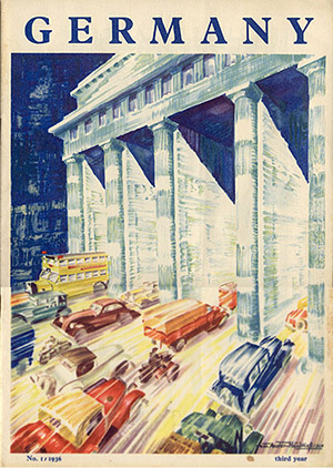 Berlin International Automobile Exhibition 1936