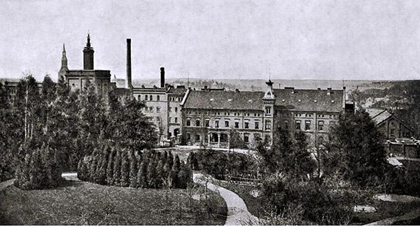 Boehmisches Brauhaus Insterburg 1900