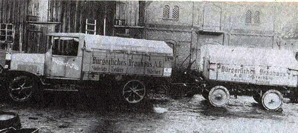 Brauerei_Lieferwagen инстербург городская пивоварня