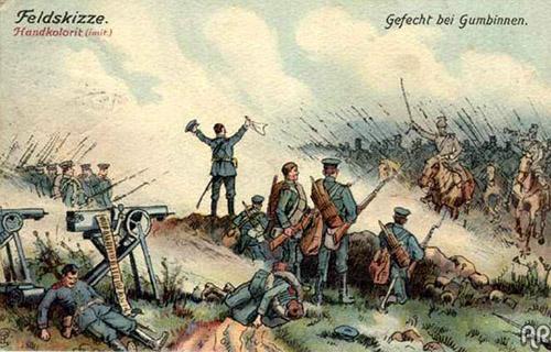 первая мировая война на территории восточной пруссии