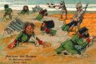 Первая мировая война в Восточной Пруссии на немецких почтовых открытках