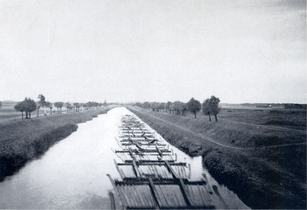 Koenig-Wilhelm-Kanal Holz канал короля Вильгельма