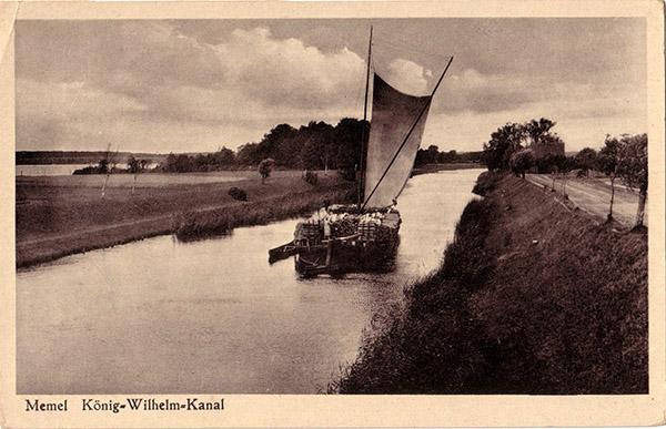 Koenig-Wilhelm-Kanal Memel
