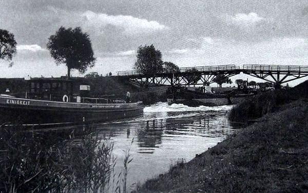 Wilhelm Kanal канал короля Вильгельма клайпедский канал