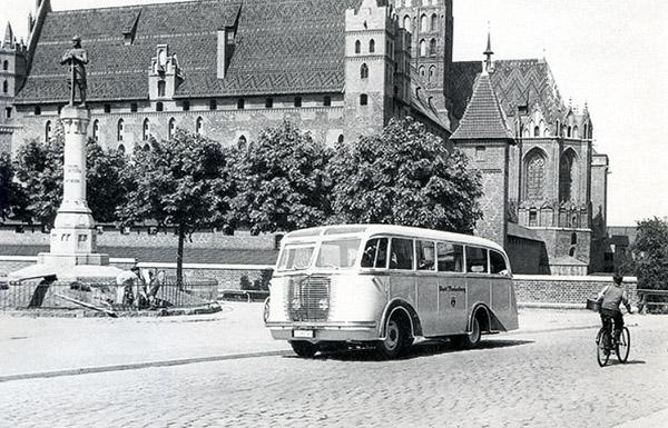 Abstimmungsdenkmal Marienburg 1943 плебисцит на вармии и мазурах