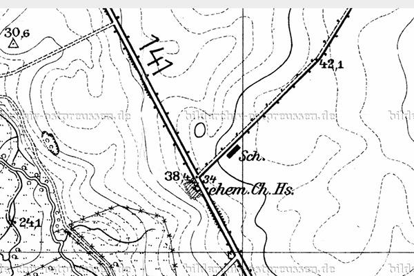 Allenburg-Gerdauen Chaussee 141 map