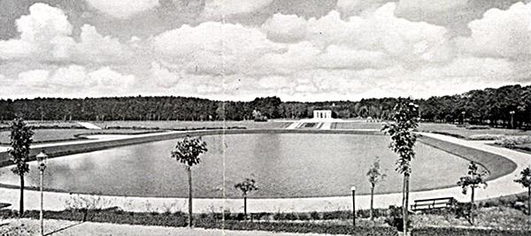 Allenstein Abstimmungsdenkmal mit Georg-Zülch-Platz 1935-1936 варминско-мазурский плебисцит