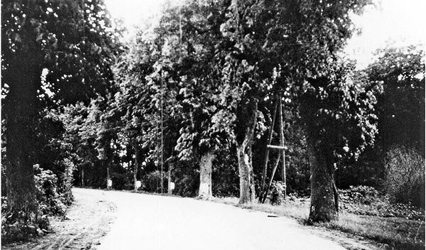 Chaussee Gerdauen Barten 1940