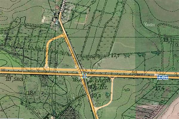 Chausseehaus Poppendorf map дом у шоссе
