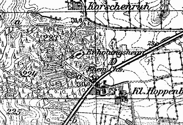 Chausseehaus Uljanovka map
